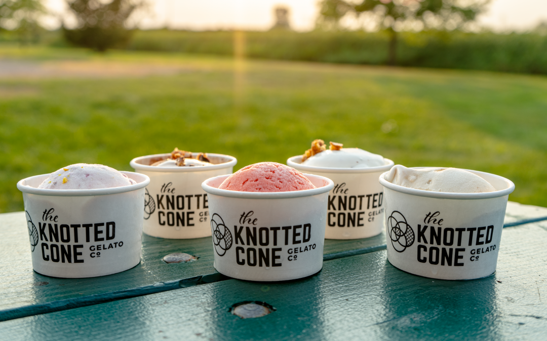 Gelato Variety at The Knotted Cone!