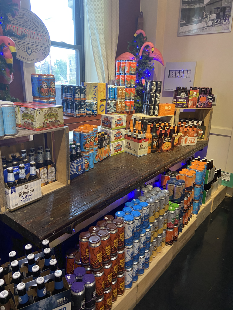 Wagner Market has 500+ craft beer options to choose from