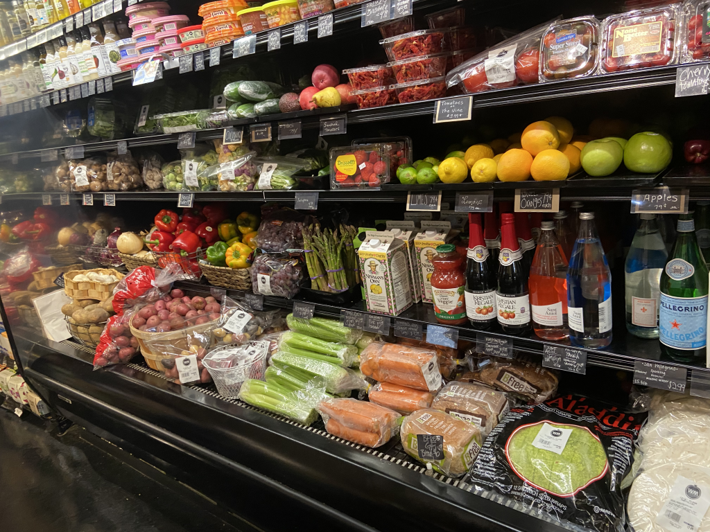 Purchase groceries at Wagner Market