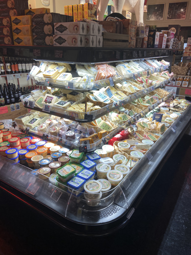 There are 100+ cheese varieties available at Wagner Market