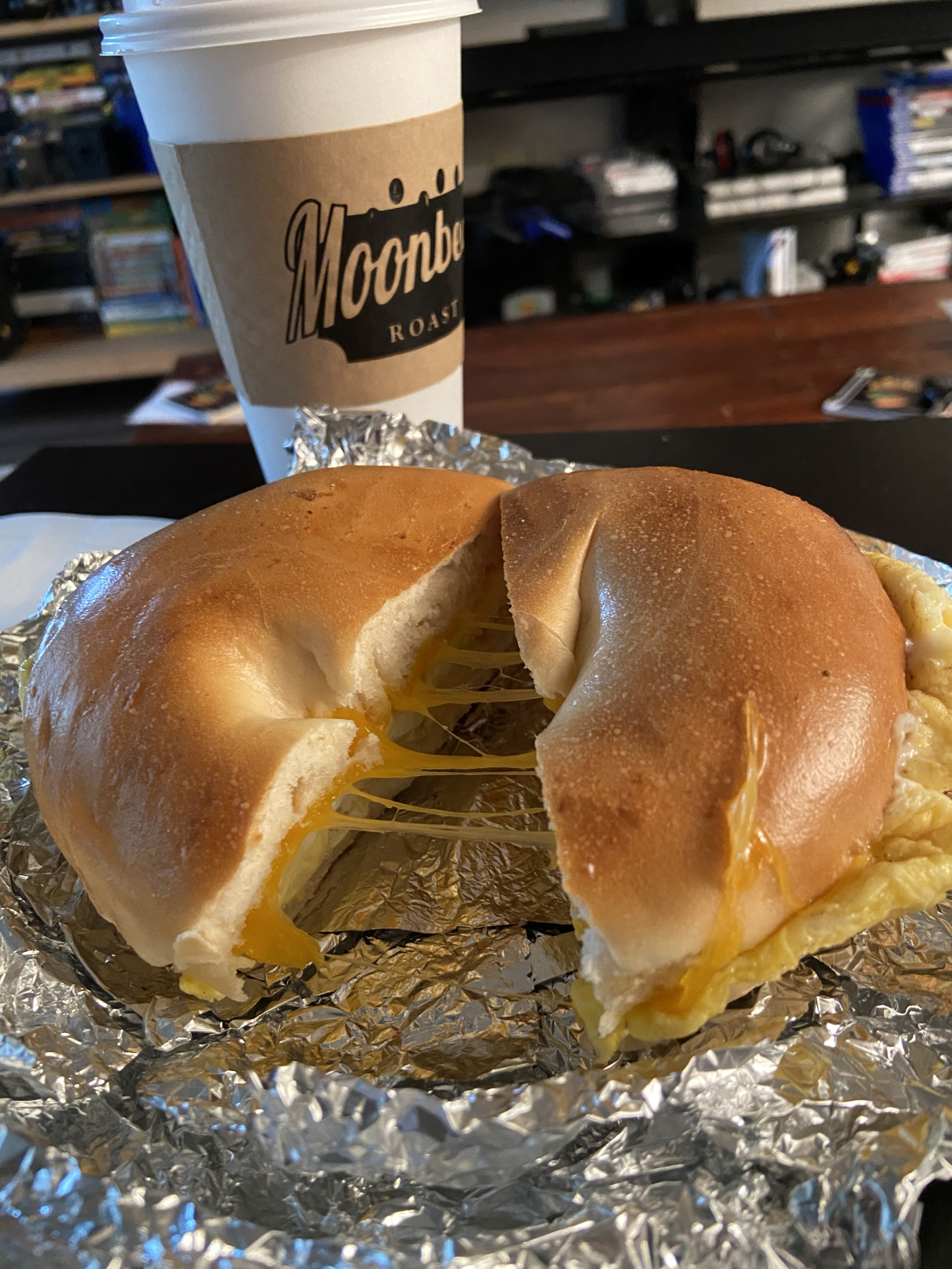 Classic Bagel Sandwich from New Moon Cafe