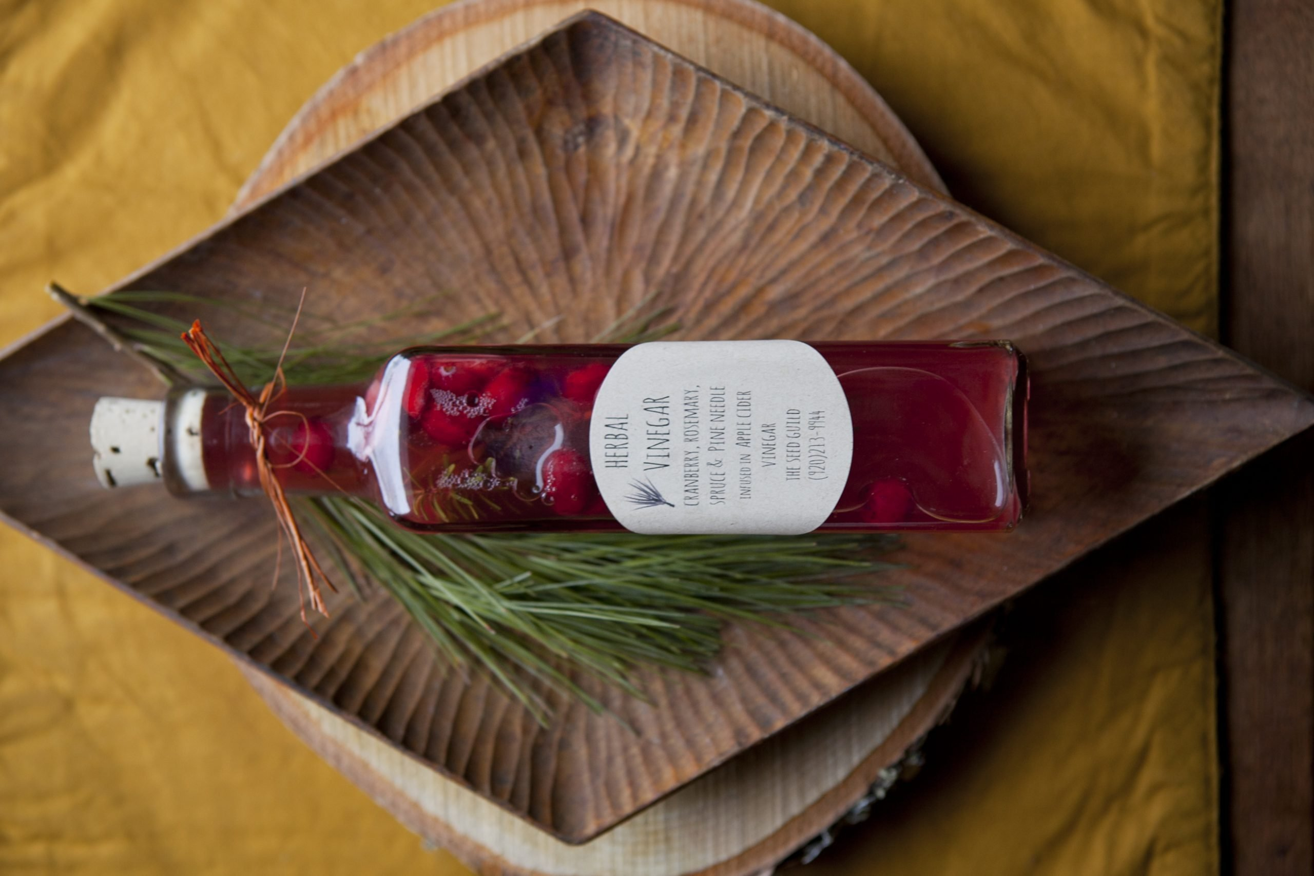 foraging, the seed guild, herbal vinegar, wisconsin, wisconsin foraging