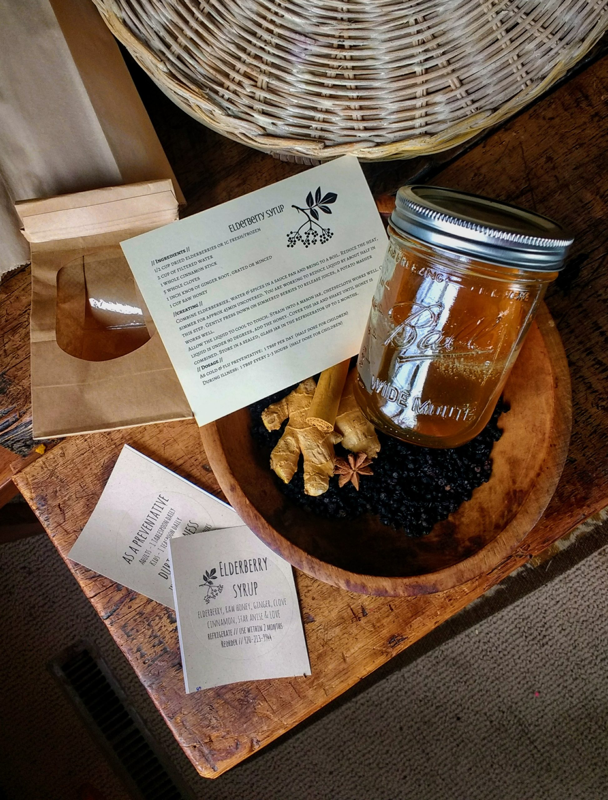 the seed guild, elderberry syrup, foraging, wisconsin blogger
