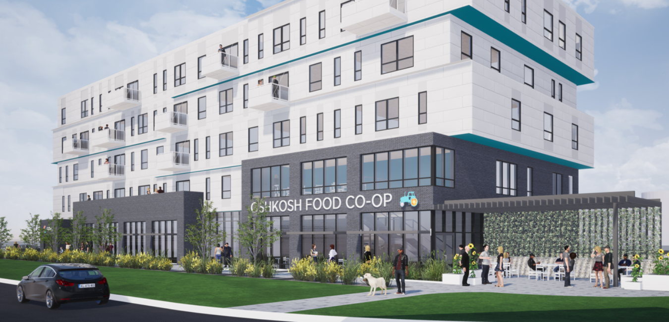 Oshkosh Food Co-Op Render