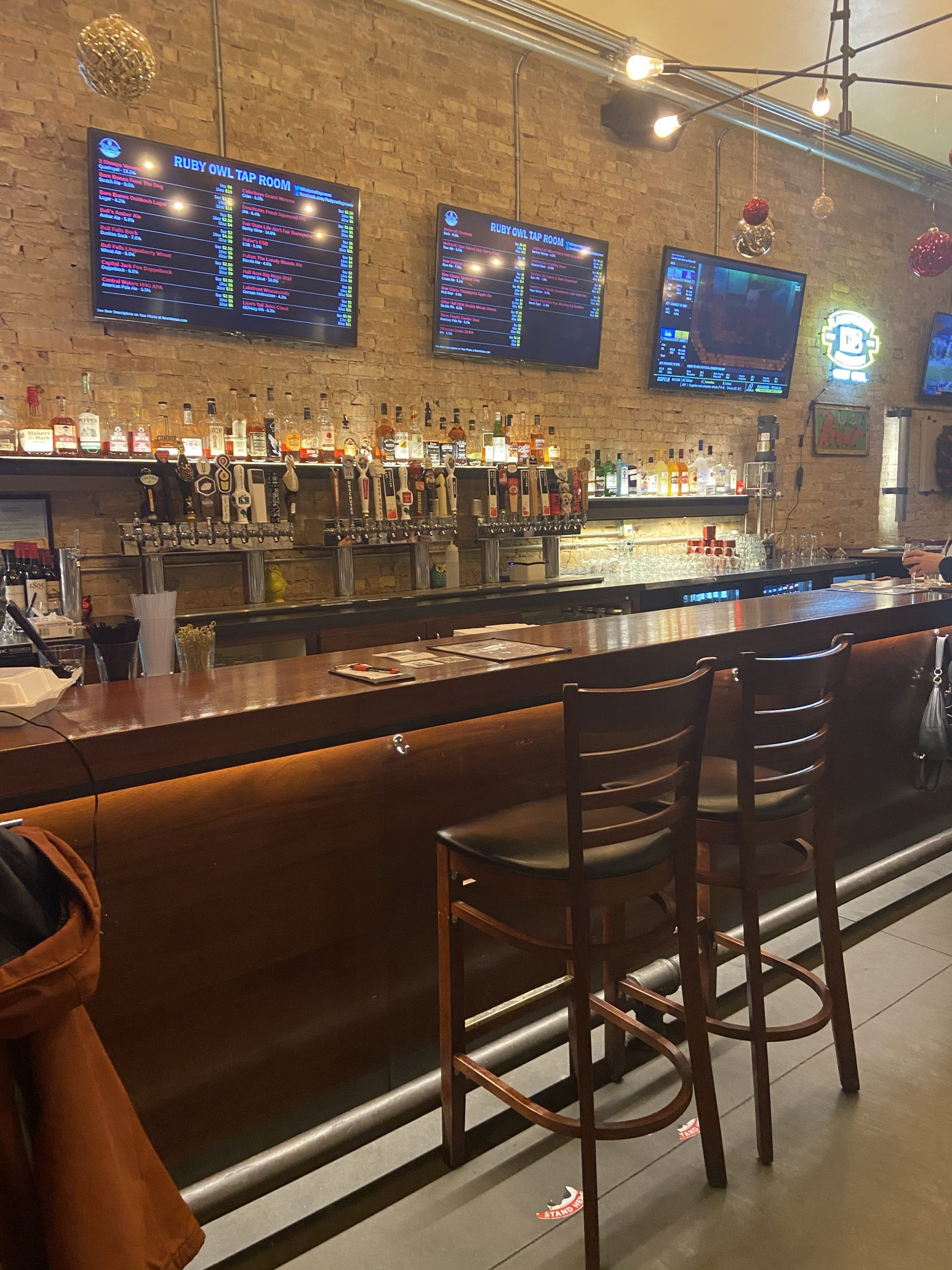 Ruby Owl Tap Room in Oshkosh