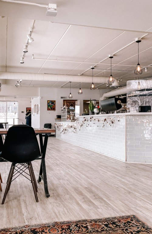 inside of Tempest Coffee Collective