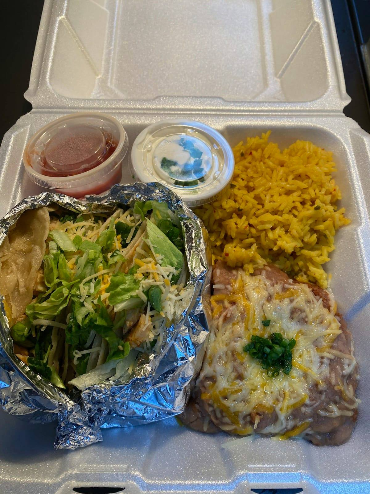 One meal from Rodney's Cafe Meal-A-Thon program in Oshkosh